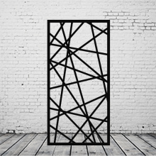 Laser Cut Aluminium Decorative Screen