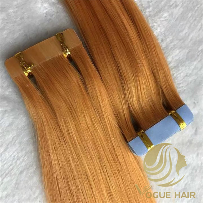 remy human tape in hair