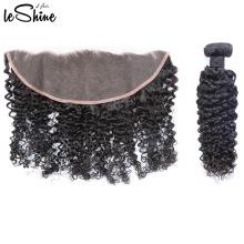 El grado perfecto vende al por mayor los paquetes alineados al por mayor del pelo de la cutícula real brasileña con el cierre bajo de seda