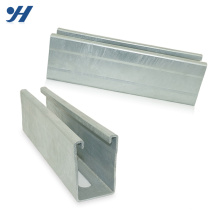 Alibaba Suppliers Slotted Galvanized Sheet Metal Channel,C Channel Steel For Sale