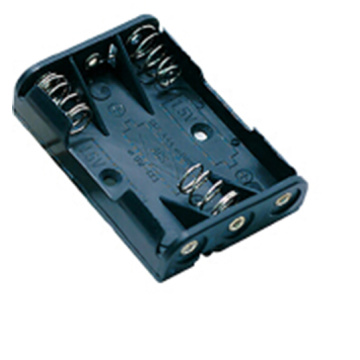 Batterijhouder (open) AAA 3 Cell PC Pin