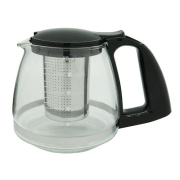 Стеклянный чайник с ситечко 800 мл