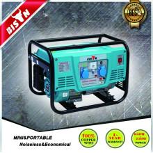 BISON (CHINA) 1.5kw 1.5kva 1500w gasolina generador nuevo diseño portátil
