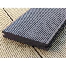Outdoor Waterproof Wood Plastic Composite Solid Decking