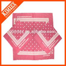 Смешной фирменный квадрат подгонянный хлопок headwear bandana