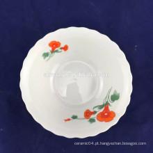 venda por atacado tigela de macarrão de porcelana
