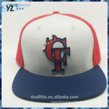 cheap and high quality snpanck hat with 3D emboridery logo made in china