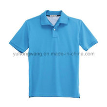 Großhandels-Baumwollmänner bedrucktes T-Shirt, Polo-Hemd