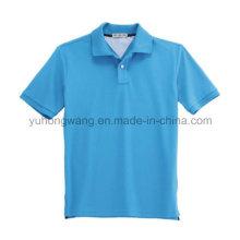 T-shirt imprimé en gros pour hommes en coton, polo