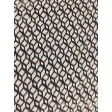 tricot jacquard en coton 22% polyester T / C