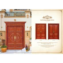 Dessus de porte en bois intérieur pour maison et projet