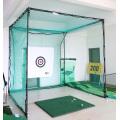 Jaula para columpios de golf para interiores y exteriores