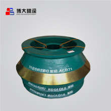 Nord cone crusher spare parts bowl liner