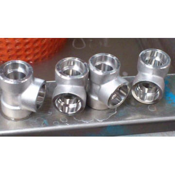 Forged Steel High Pressure Threaded Socket Weld Fitting