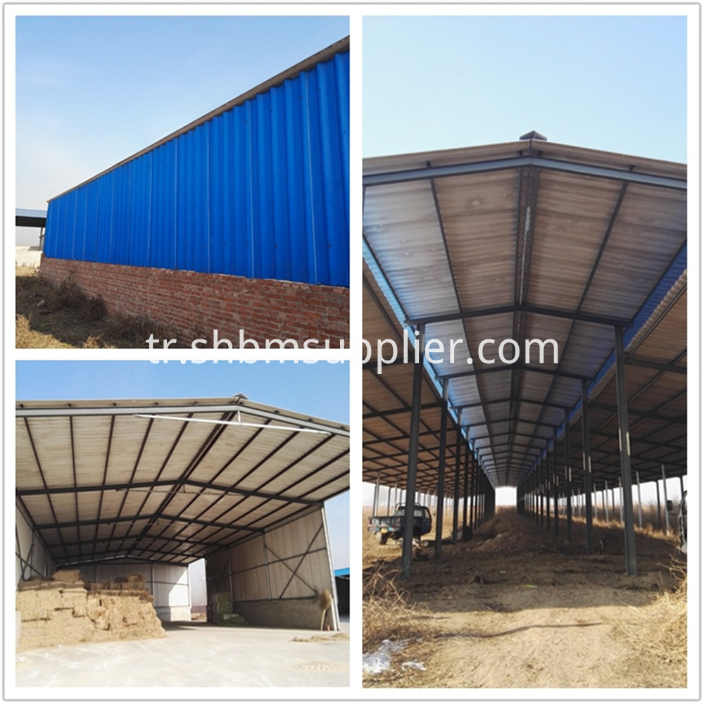 Fire Prevention Magnesium Oxide Gray Roofing Sheet