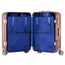 Elegant Full Aluminum Magnesium Alloy 22 Carry on 4 Wheel Spinner Travel Case (BYT -3698)