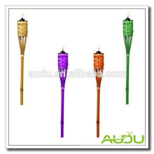 Audu Cheap Garden Colorful Bamboo Torch/Tri Color Torch