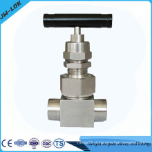 2014 válvula de agulha de capô de união de alta pressão mais vendida