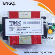 SHS25C Japan THK SHS25 Guía lineal de cuatro orificios Slider Rails Rodamiento de bloque / HIWIN PMI ABBA Rexroth IKO