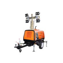 High quality 4HVP LED Mobile Lighting Tower SWT Power