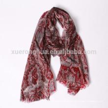 estampado digital estampado floral cachemir bufanda chal