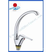 Sola manija mezclador de la cocina de latón grifo de agua (zr21809-a)