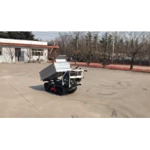 2020 China  FREE SHIPPING Track Hydraulic Concrete Mini Tractor Dumper For Moving Materials