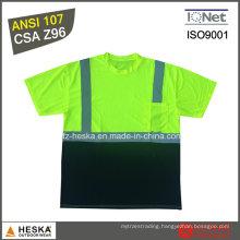 Hivis T Shirt Short Sleeves Reflective Shirt