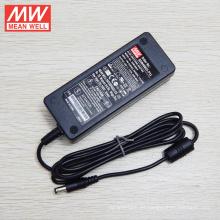 Adaptador médico original MEANWELL 24VDC 1.5A 3 años GSM40B24-P1J