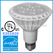 par30 UL certified 11w hot selling led par lights par30 & 30 degree new design white finishe par30 led spot light