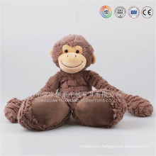 Chinese new year plush toy monkey from dongguan ICTI factory