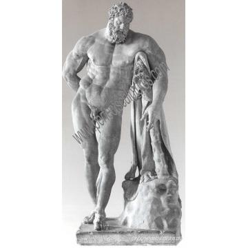 Mármore escultura estátua esculpida pedra escultura para decoração de jardim (sy-x1569)