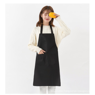 Cheap Wholesales Customize LOGO Peach skin velvet material Cooking,Working,Drawing Apron