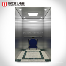 ZhuJiangFuJi customized light curtain sensor hospital passenger elevator cost size passenger lift