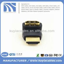 90 Degree Mini HDMI To HDMI Adapter Connector Male To Female