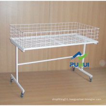 Rollable Floor Standing Bulk Displayer (PHY520B)