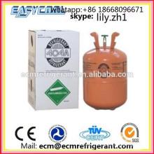 preço fresco do gás refrigerante r404a do gás do líquido refrigerante r404a para venda