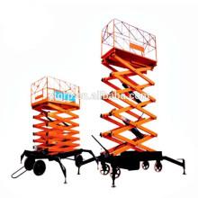 Ciseaux de grue de levage hydraulique électrique