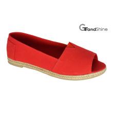 Женские повседневные туфли Espadrilles с открытым носком