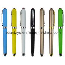 Excelente caneta de tinta plástica Gel caneta Stylus (LT-C721)