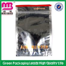 Alibaba certificated fabricante amostra grátis de ervas de plástico de zíper de alumínio saco / 1g potpourri