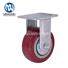 PVC 5 Zoll Fixed Heavy Duty Caster