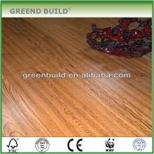 Natural Wire Brushed Oak Wood Flooring Guangzhou factory