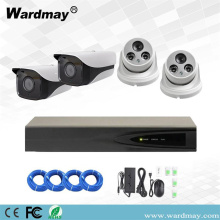 4CH 5.0MP Kit Pengawasan Video Starlight Poe NVR
