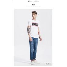 Soem-neuer Entwurfs-preiswerter Verkaufs-Mann-T-Shirt mit Druck
