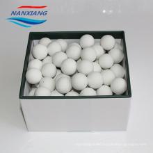 Daily production of 40 ton Inert ceramic aluminium packing balls 6mm in chemical 3-25mm 16%-25%Al2O3