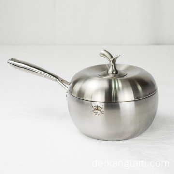 Pot Pure Titanium Milk Pot Antihaft-Topf