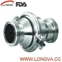 Válvula de retención de acero inoxidable 316L