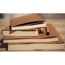 Vertragliches Kraft-Abdeckung Skizzen-Notizbuch, inneres leeres Notizbuch