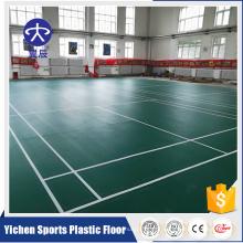 Yichen antiderrapante interior badminton tribunal tapete